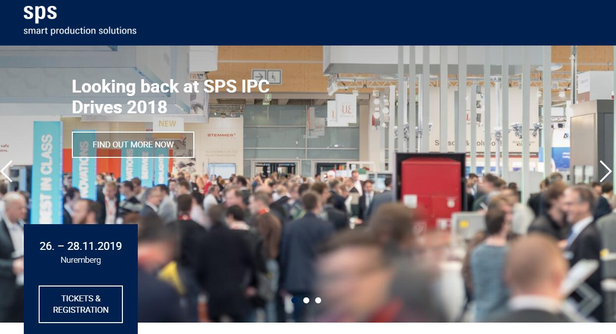 NICHIBO DC MOTOR will participate in the SPS – Smart Production Solutions Nuremberg 2019